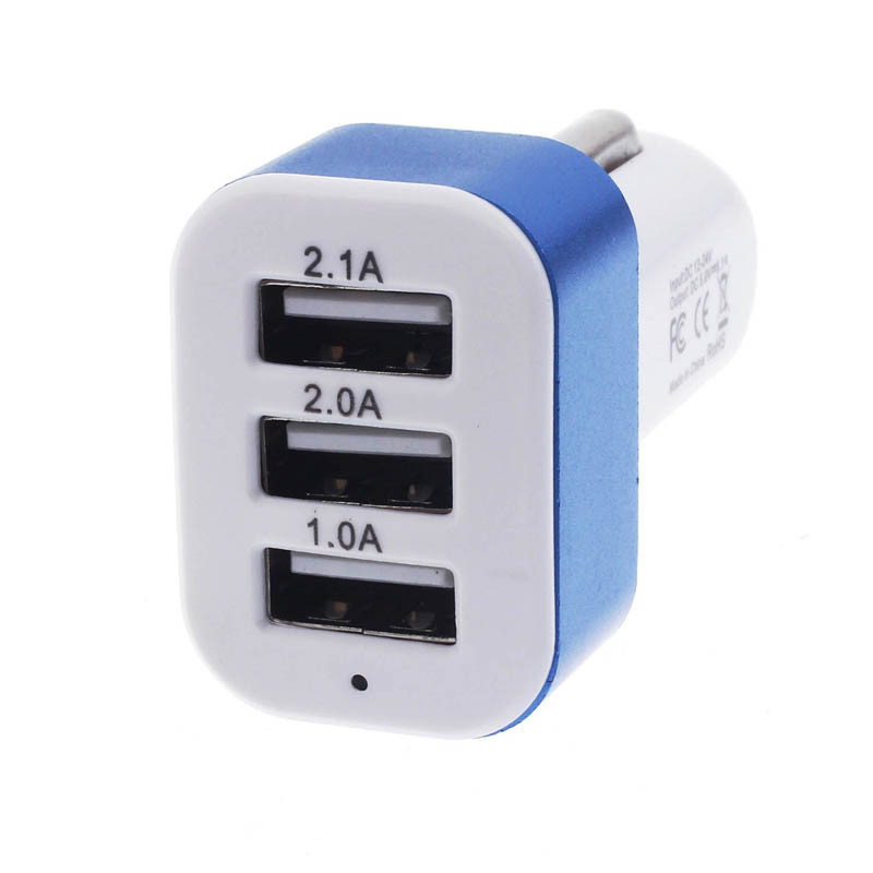 っHOT SALE Universal ⑧ Car Car charger To 5V 2A 2.1A ⓪ 1A ...