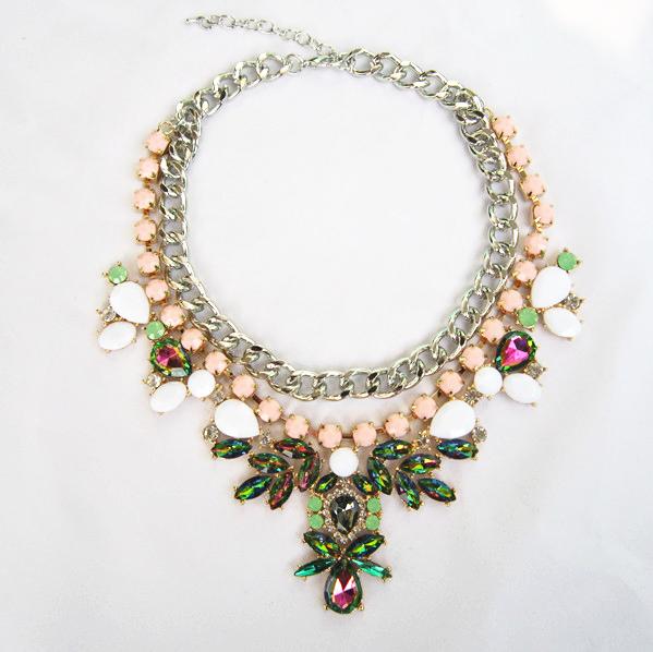 Fashion Brand Crystal Pendants Necklaces Wholesale