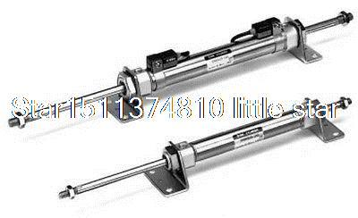 SMC Type Mini AIR Cylinder CDM2WB20-225 Double Acting Double Rod <br><br>Aliexpress