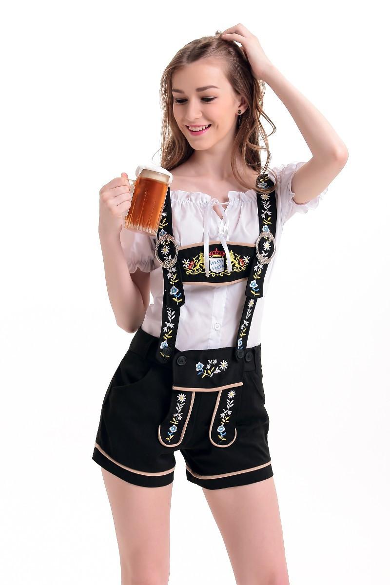 adult women sexy lederhosen costume oktoberfest beer girl. Black Bedroom Furniture Sets. Home Design Ideas