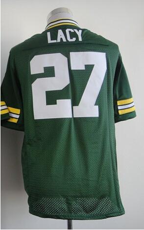 #27 Eddie Lacy Jersey,Elite Football Jersey,Best quality,Authentic Jersey,Size M L XL XXL XXXL,Accept Mix Order