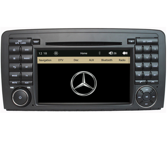 "7"" Capacitive Touch Screen Car DVD Player For Mercedes Benz R Class W251 R280 R300 R320 R350 R500 Radio Navi Stereo Player(China (Mainland))"