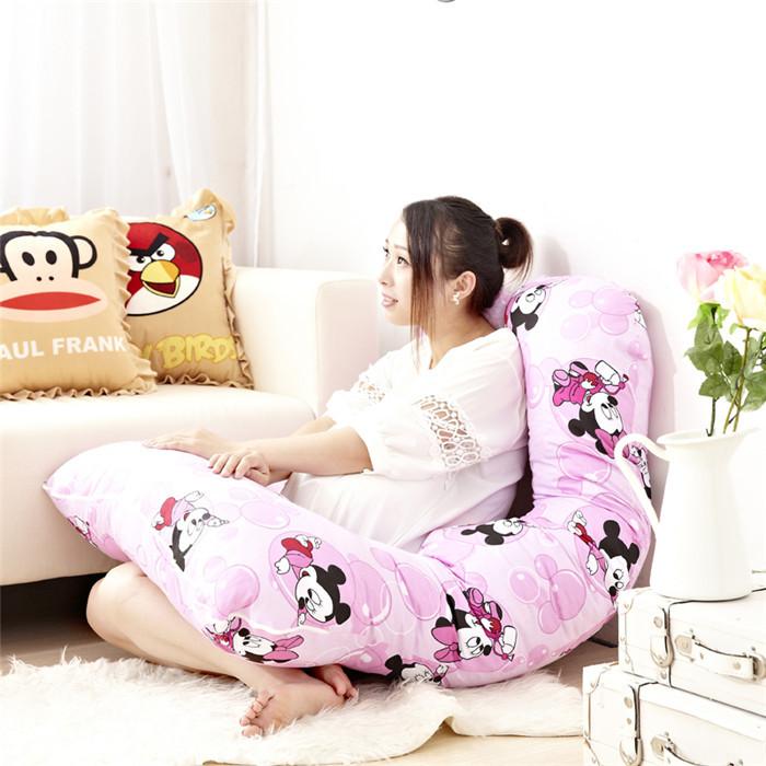 Cute Baby Mickey Pregnancy Pregnant Sleeping Nursing Bedding Body Pillow for Pregnant Women(China (Mainland))