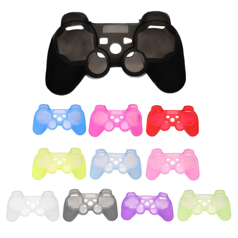 Newest Design Silicone Protective Skin Case Cover For Sony for PlayStation 3 for PS3 Controller(China (Mainland))