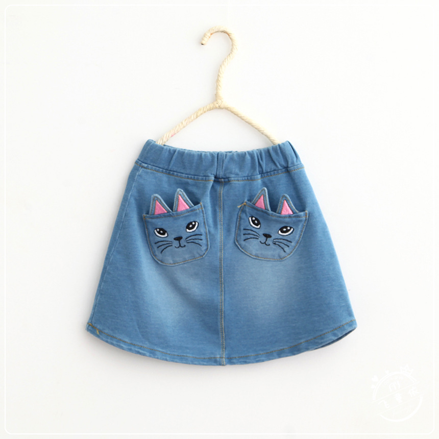 buy wholesale blue jean skirt patterns from china