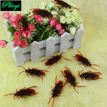 3cm Animal 1pcs simulated cockroach children tricky toys kids educational plaything kuso novel funny plastic toy PB0235(China (Mainland))