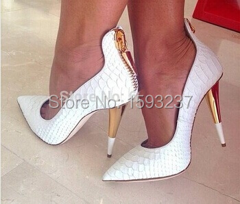 White Shoes Heels