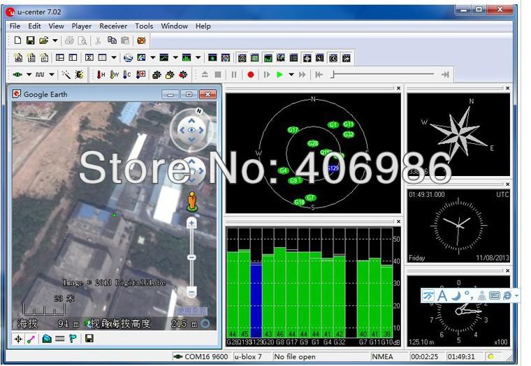 Gps модуль GMOUSE интерфейс USB GPS навигация Google земля GlobalSat BU-353S4 скайлэб SKM55 вк-162 GPS USB GPS антенна
