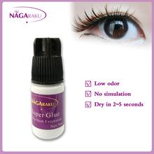 5ml,Fast dry, low odor, no simulation,eyelash extension glue,lash glue, eyelash glue(China (Mainland))