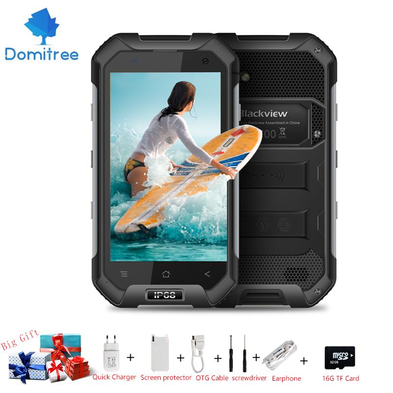 "Original 4.7"" HD Blackview BV6000 waterproof IP67 Smart phone Android 6.0 MT6755 Octa core 4g lte 3GB RAM 32GB ROM Dual SIM GPS(China (Mainland))"