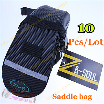 1waterproof 600D Mountain Bike bag bicycle Saddle Bag Back Seat Tail Pouch Package sport Road Cycling Bicycle - Fashion the benefits cap / glasses clothing accessories stores store
