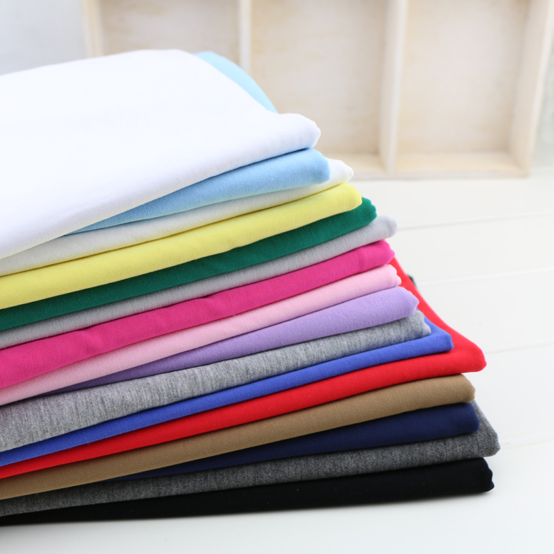 50*165cm well stretch modal knitted fabric summer natural cotton jersey clothing fabric DIY elastic dress making fabric(China (Mainland))