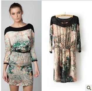 Online Get Cheap Dress Silk Ink Print -Aliexpress.com - Alibaba Group