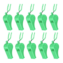 New Arrvial!!! Wholesale Sports Whistle Football Rugby Hockey Referee Plastic & Neck Wrist Cord-5 Colors(China (Mainland))