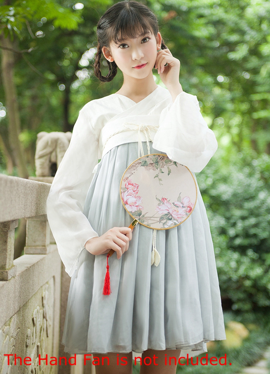Modern Chinese Traditional Dress Han Dynasty Costume for Ladies Linen Chiffon Summer DressОдежда и ак�е��уары<br><br><br>Aliexpress