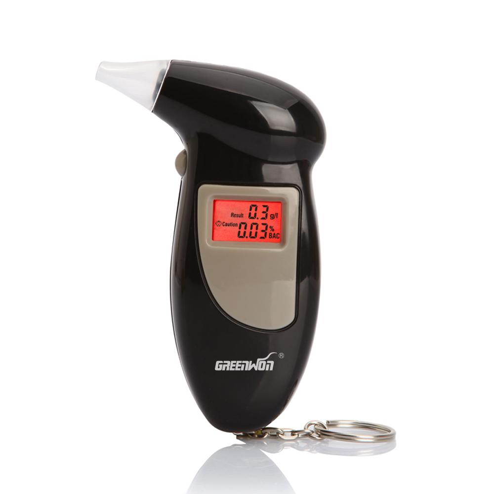 Free Shipping, Key Chain Alcohol Tester, Digital Breathalyzer, Alcohol Breath Analyze Tester (0.19% BAC Max) , Wholesale 2pcs(China (Mainland))