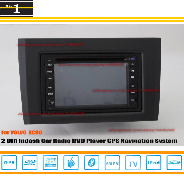 For VOLVO XC90 XC 90 2002~2013 - Radio CD DVD Player & GPS Navigation System / Double Din Car Audio Installation Set(China (Mainland))