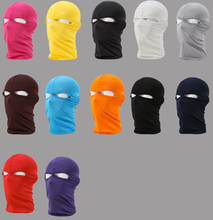 2 Hole Full Motorcycle Cycling Ski Neck Outdoor Balaclava Full Face Mask Cover Hat Head Hood UV Sun Wind Dust Protector