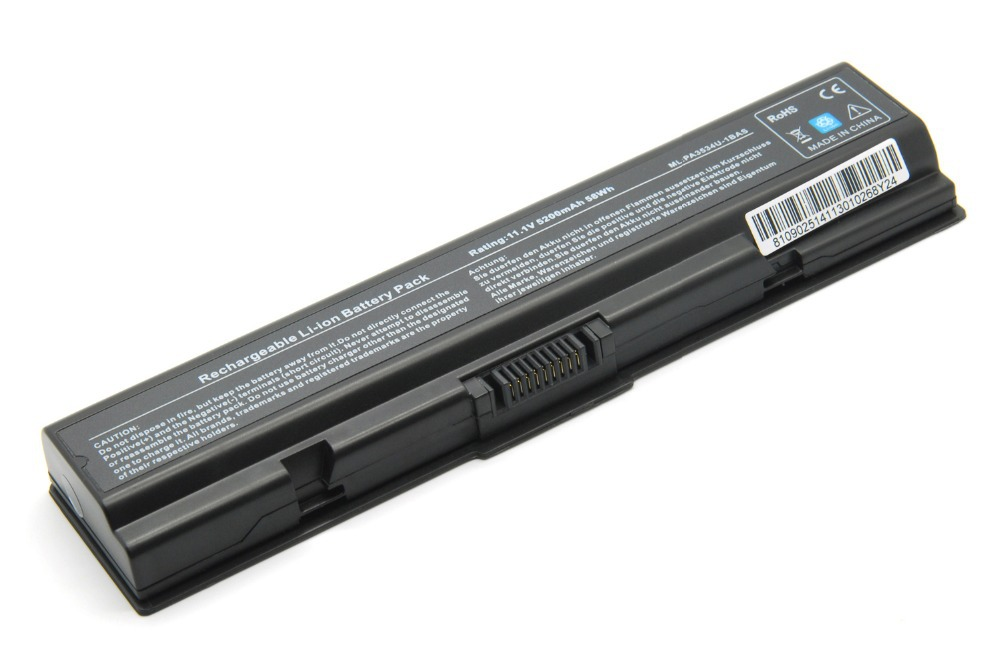 TPE High Laptop Battery for TOSHIBA SATELLITE 3634 A665 L645 M300 M301 M305 M505 U405 Part Number PA3635U-1BRM PA3634U-1BAS(China (Mainland))