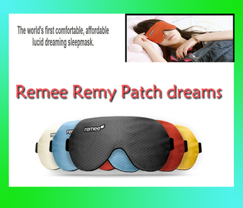 Remee Remy Patch dreams of men and women dream sleep patch A lucid eyeshade Inception dream control the tomb-sweeping day