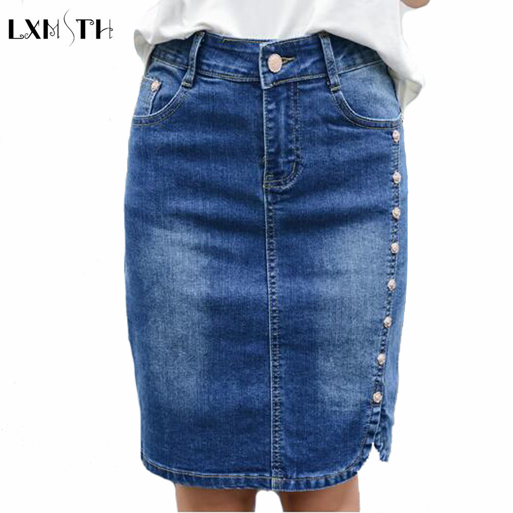 Online Buy Wholesale pencil jeans skirt from China pencil jeans ...
