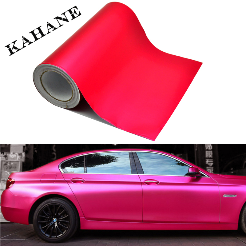 30cm Car Styling PINK color PVC Vinyl Wrap Ice Blue Sticker Decorative Auto Film Sheet Vehicle Stickers(China (Mainland))