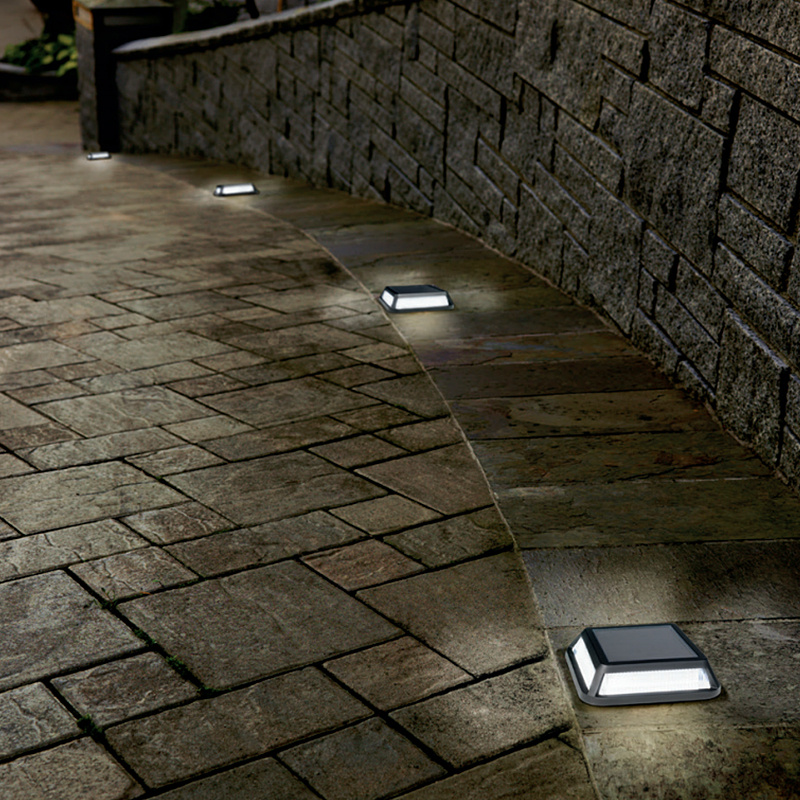 Online buy wholesale solar driveway light from china solar for Lampe a led exterieur