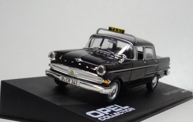 IXO / Altaya 1:43 Opel Kapitan PII 1959-1964 TAXI Diecast car model Scale Model(China (Mainland))