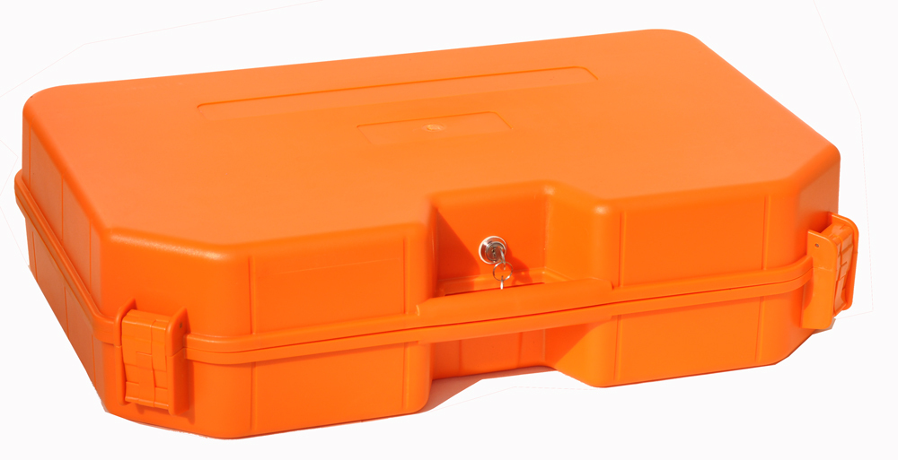Impact resistant sealed waterproof safety case 640x400x140 mm  tool equipmenst encosure box with wheels Foma Rohs approved 45-35