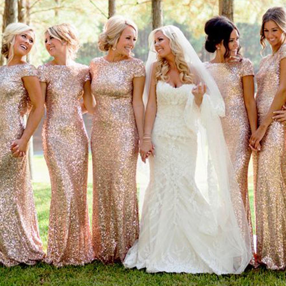 Wedding Dresses Maid Of Honor 71 Cute Cheap champagne gold bridesmaid