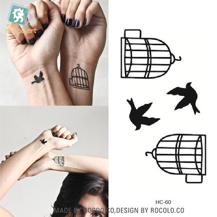 Swinger temporary tattoos