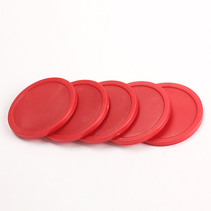 5Pcs Red 2-inch Mini Air Hockey Table Pucks 50mm Puck Children Table New Arrival EA14(China (Mainland))
