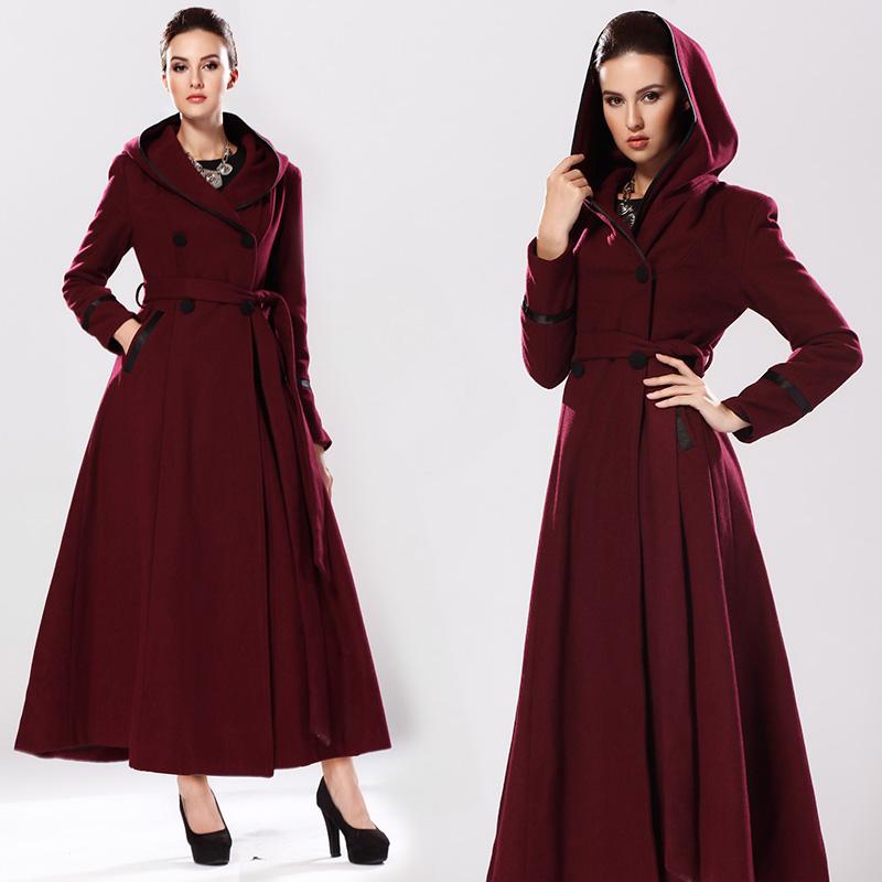 Long Winter Coats With Hoods