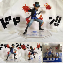 Anime One Piece Figarts.zero SABO Dodon!!5th Anniversary Edition PVC Action Figure Collection Model Kids Toy Doll KA0231