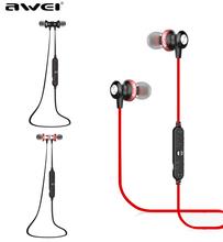 Awei A980BL Wireless Bluetooth earphone stereo music earphone sports running earphone with Microphone