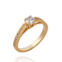Fashion small single-circle rhinestone rings pinky rings female/Free shipping KUNIU WJ0004(China (Mainland))