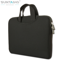 Buy Portable Soft Sleeve Laptop Bag Case Briefcase Handlebag Pouch 11 13 15 inch Macbook Air Pro Laptop Notebook for $10.19 in AliExpress store