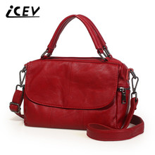 Buy ICEV New Cowhide Women Leather Handbags Genuine Leather Bags Handbags Women Famous Brands Designer Bag High Office Totes for $48.97 in AliExpress store