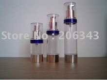 15ML airless bottle or plastic lotion bottle with airless pump can used for  Cosmetic Container