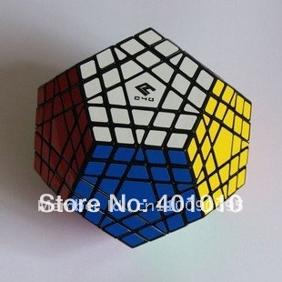 New Black 5x5 12 colors Gigaminx Magic Cube Toy