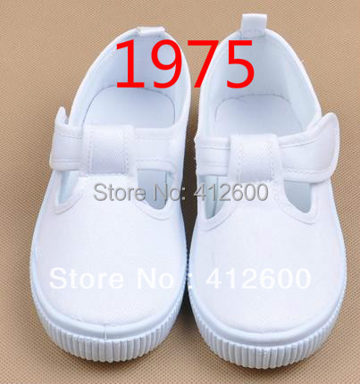 wholesale free shipping children shoes white canvas shoes