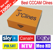 Best Quality CCCAM  3 clines use for one year.You can have a test clines ,for any Satellite Receiver support CCCAM C-lines(Hong Kong)