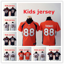 Kids youth Free fast shipping 94 DeMarcus Ware 7 John Elway 58 Von Miller 88 Demaryius Thomas 30 Anthony Davis,camouflage(China (Mainland))