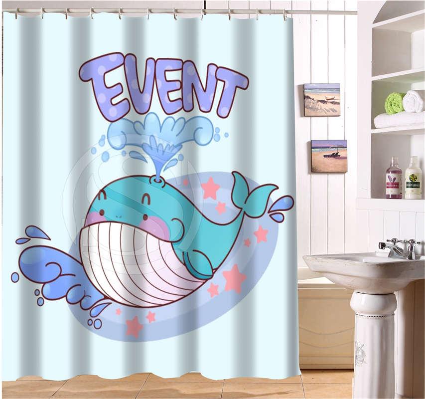 line Get Cheap Whale Shower Curtain Aliexpress