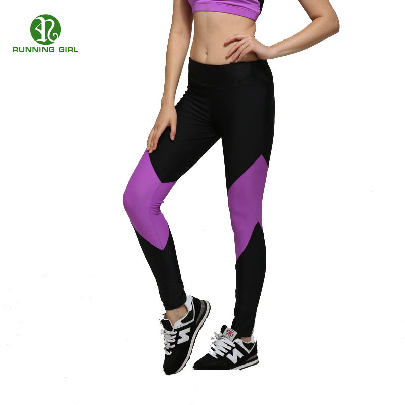 New Brand Sexy High Elastic Leggings Stretched Clothes Spandex Womens Leggins Workout Fitness Active Pants(China (Mainland))