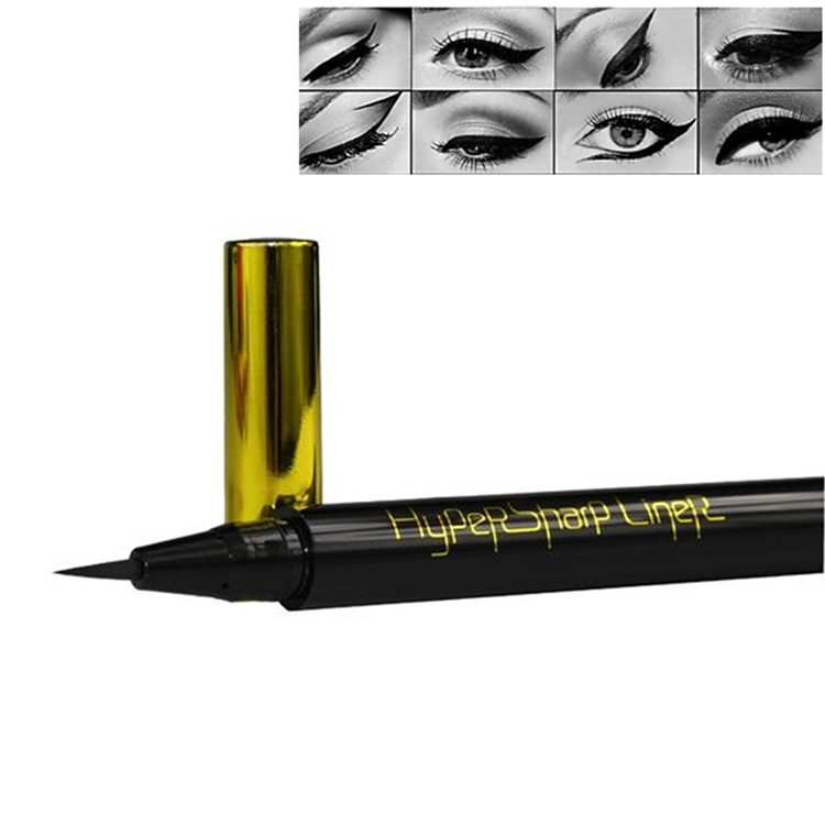 1PC smooth &thin liquid eyeliner pen pencil waterproof eye liner makeup brand 24 hour lasting - Guangzhou Shopping Mall store