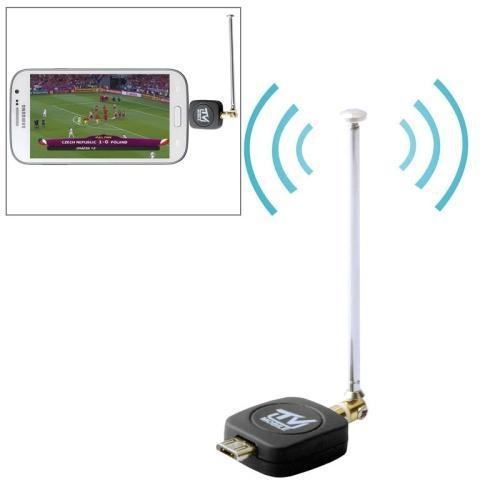 Mini DVB-T ISDB-T HDTV Smartphone TV Tuner Receiver Android Tablet Stick Dongle(China (Mainland))