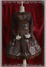 High Quality Vintage Style Steampunk Lolita Dress Cosplay