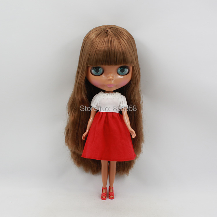 Nude Doll For Series No . BL12489103with bans  Black skin Suitable For DIY Change BJD Toy For Girls<br><br>Aliexpress