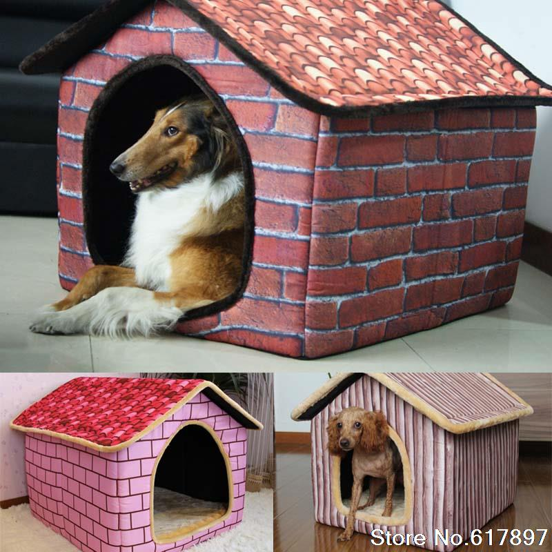 Cama para cachorro grande bricks design luxury large dog for Camas grandes
